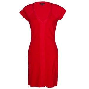 Express Design Studio Fitting Red Dress